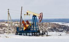 Free Oil Pump Royalty Free Stock Photo - 4167915