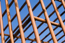 Free Red Cage Royalty Free Stock Image - 4168246