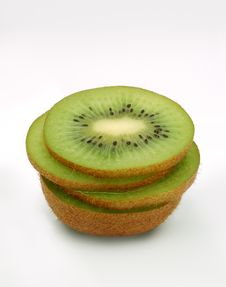 Free Fresh Sliced Kiwi Stock Photos - 4168363