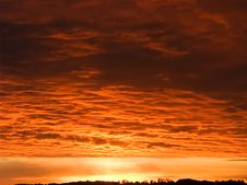 Free Red Clouds Royalty Free Stock Photo - 4169665