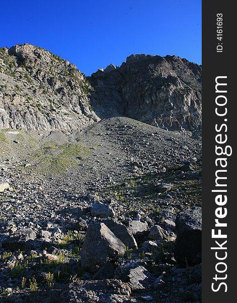 Mountain boulders 2