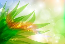 Free Vector Background In Pastel Colors With Green Royalty Free Stock Images - 41698299