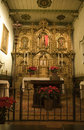 Free Mission San Juan Capistrano Church Alter Close Up Royalty Free Stock Photography - 4170377