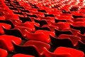 Free Curves Of Red Seats Stock Photo - 4178650