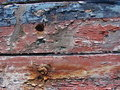 Free Red And Blue Peeling Paint Royalty Free Stock Images - 4179049