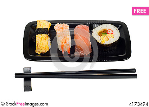Free Assortment Of Sushi Stock Images - 4173494