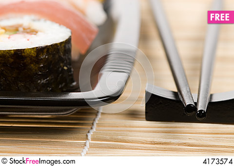 Free Assortment Of Sushi Stock Images - 4173574
