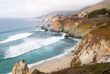 Free Rocky California Cliffs Stock Image - 4170441