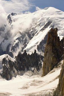 Free Mont Blanc - Chamonix, France Royalty Free Stock Image - 4170786