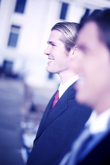 Free Businessmen Royalty Free Stock Image - 4171176