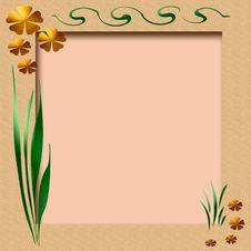 Free Spring Scrapbook Frame Stock Image - 4172101