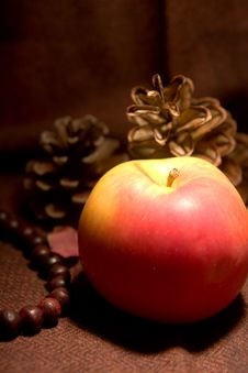 Free Still Life Red Apple Stock Photos - 4173013
