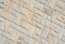 Stone In Row Stock Photography