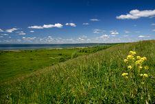 Free Sunny Landscape. Russia, Pereslavl. Stock Image - 4173451