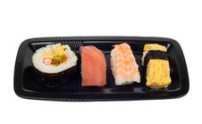 Free Sushi On A Plate Stock Photography - 4173482