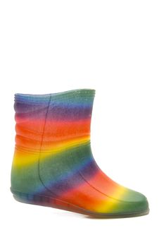 Free Iridescent Rubber Boots Royalty Free Stock Photos - 4173568