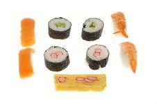 Free Sushi Assortment Stock Images - 4173634