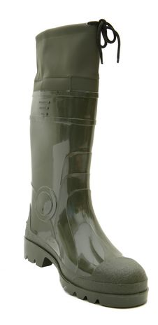 Free Green Rubber Boots Isolated Royalty Free Stock Photography - 4173657