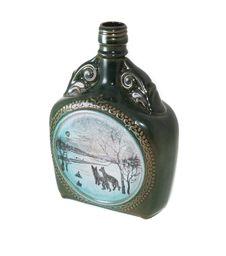 Ceramic Bottle, Porcelain Stock Images