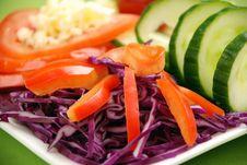 Free Salad Royalty Free Stock Image - 4173896