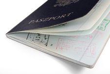 Polish Passports Stock Image