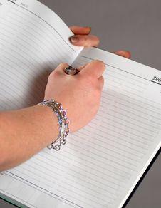 Free Diary Stock Image - 4174101