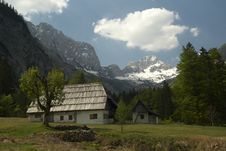 Free Alpine Landscape Stock Photos - 4174473