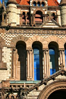 Copley Square, Boston Royalty Free Stock Photo