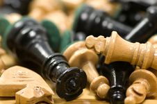 Free Chess Pieces Stock Photos - 4175573