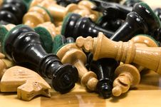 Free Chess Pieces Stock Photography - 4175582