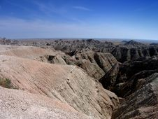 Free The Badlands, South Daokota Stock Images - 4175934