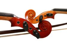 Free Two Violins Stock Photo - 4177420