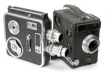 Free Retro Hand Cameras Stock Image - 4177631