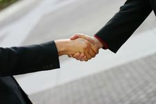 Free Business Handshake Stock Image - 4178761