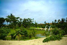 Free Beach Resort Stock Image - 4179031