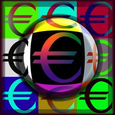 Free Euro Pop Button Stock Photo - 4179050