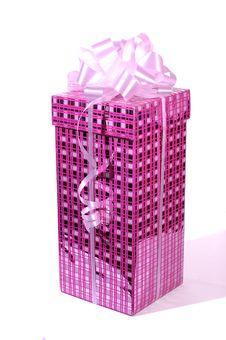 Free Purple Gift Box Royalty Free Stock Image - 4179536