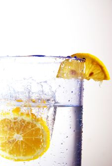 Free Lemon Splash 03 Royalty Free Stock Image - 4179566