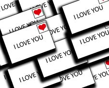Free Lots Of Love Letters Royalty Free Stock Photography - 4179717