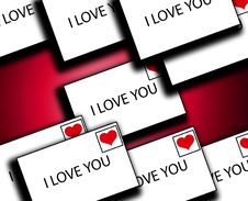 Free Lots Of Love Letters 2 Stock Photos - 4179723