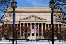 Free National Archives Building Royalty Free Stock Image - 4179806