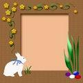 Free Easter Scrapbook Frame Stock Image - 4182241