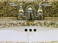 Free Sink With Two Taps Stock Image - 4183251