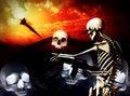 Free War Skeleton War Background Stock Photo - 4188820