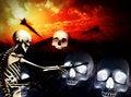 Free War Skeleton War Background 3 Stock Photography - 4188832