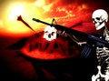 Free War Skeleton War Background 3 Stock Image - 4188871