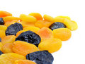 Free Dried Apricot And Black Plum Fruits Stock Photography - 4189382