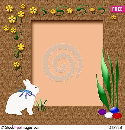 easter scrapbook frame - Easter Photo Frames
