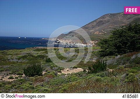 Free Big Sur Stock Image - 4185681