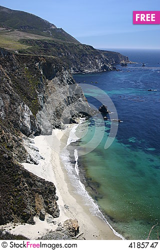 Free Big Sur Royalty Free Stock Photography - 4185747